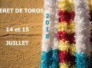 Dates de CERET DE TOROS 2018